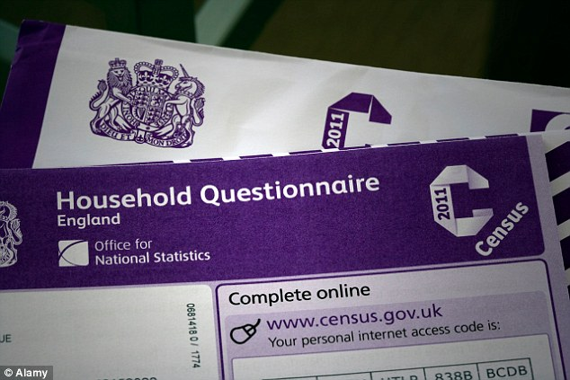 The Office for National Statistics today said the 2011 census, pictured, did not meet a 'clear need' for better information on sexual identity in Britain