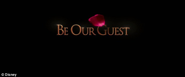 'Be our guest': Disney alerts moviegoers that Beauty and the Beast is coming to a theatre near you