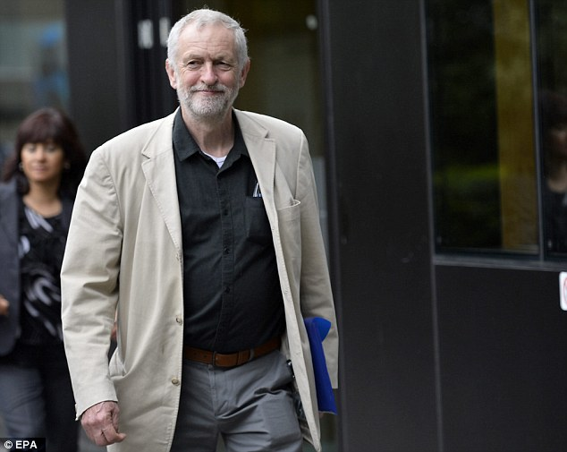 Labour leader Jeremy Corbynm, pictured at Labour's 'State of the Economy' conference at the weekend, was warned tonight to remember the whole country was not like his Islington constituency