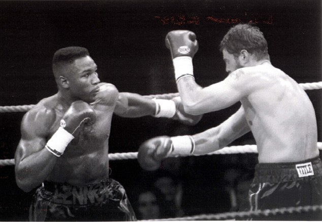 McCrory was defeated by a young Lennox Lewis in his first fight after moving up to heavyweight