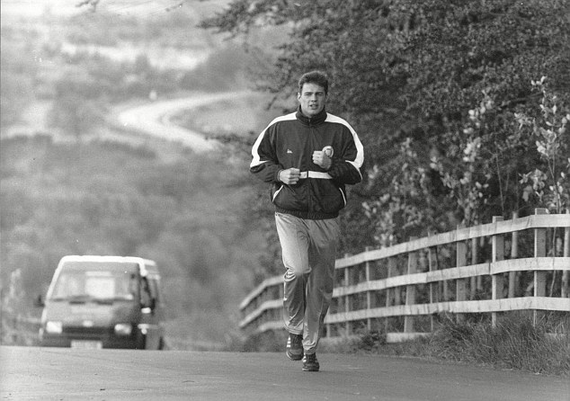 McCrory trains by running the roads in County Durham ahead of his world title challenge