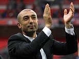 File photo dated 05-05-2012 of Roberto Di Matteo. PRESS ASSOCIATION Photo. Issue date: Thursday May 19, 2016. Aston Villa are expected to step up their move for Roberto Di Matteo after Chinese businessman Tony Xia completed his takeover. See PA story SOCCER Villa. Photo credit should read Nick Potts/PA Wire.
