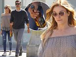 Exclusive... 52069078 Couple LeAnn Rimes and Eddie Cibrian walk hand in hand while out in Studio City, California on May 22, 2016. The pair stopped to pick up a bottle of alcohol before heading home. FameFlynet, Inc - Beverly Hills, CA, USA - +1 (310) 505-9876