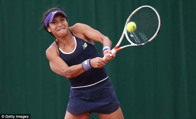 Heather Watson defeatedNicole Gibbs 5-7, 6-2, 6-2 to book her place in the second round of the French Open