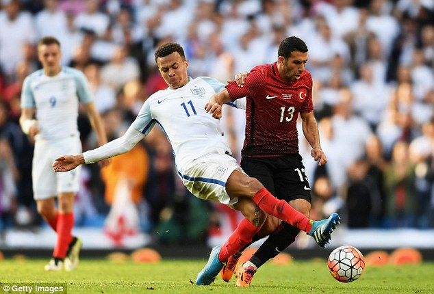 Dele Alli is expected to be included in an advance midfield three alongside Lallana and captain Wayne Rooney