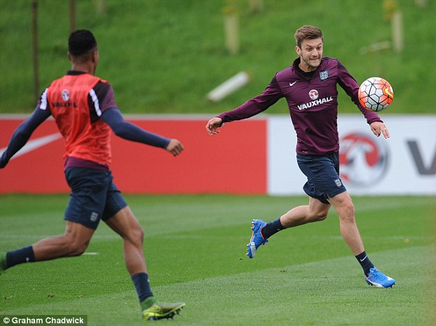 Three Lions manager Roy Hodgson has been hugely impressed by Lallana's performances with Liverpool