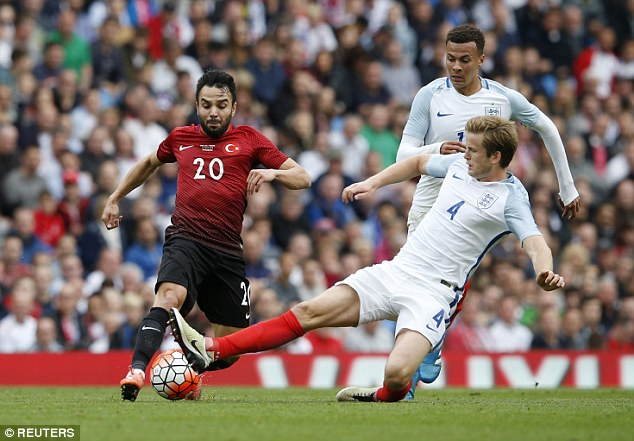 Tottenham's versatile player Eric Dier is the other option Hodgson will consider for the position this summer