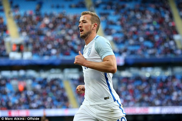 Harry Kane is set to lead the Three Lions line in France following his 25 Premier League goals for Tottenham