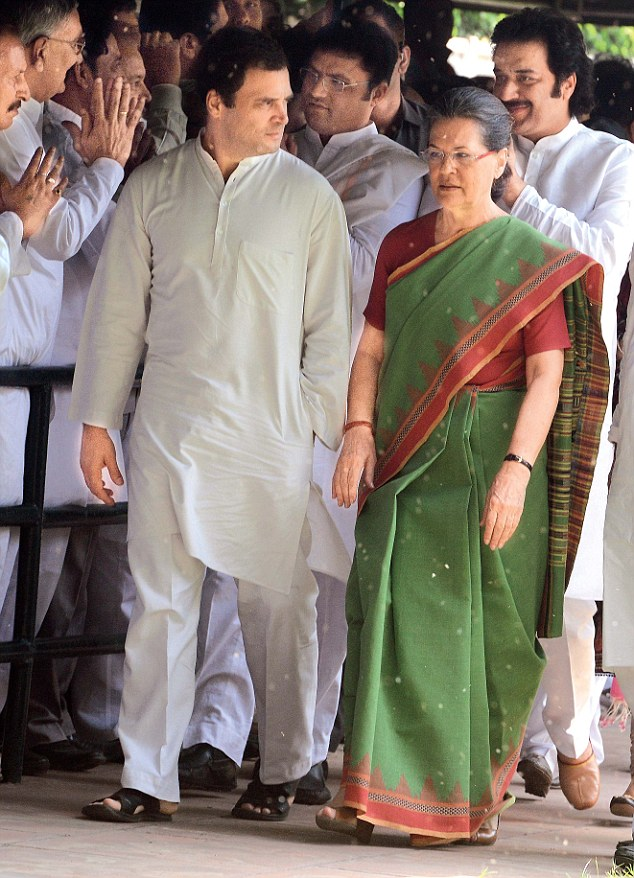 Congress chief Sonia Gandhi and party vice-president Rahul Gandhi have promised to re-assess the party's strategies in the wake of poor state election results