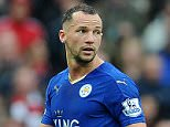 Leicester's Danny Drinkwater sent off Manchester United v Leicester City - PIcture by Graham Chadwick/Daily Mail