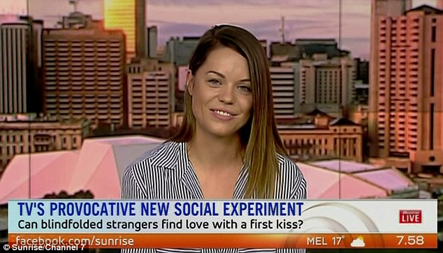 Speaking out: Kiss Bang Love's Lisa Fewster opened up about what she considers a deal breaker in a relationship and her family's thoughts on her appearance on the show on Tuesday morning on Sunrise