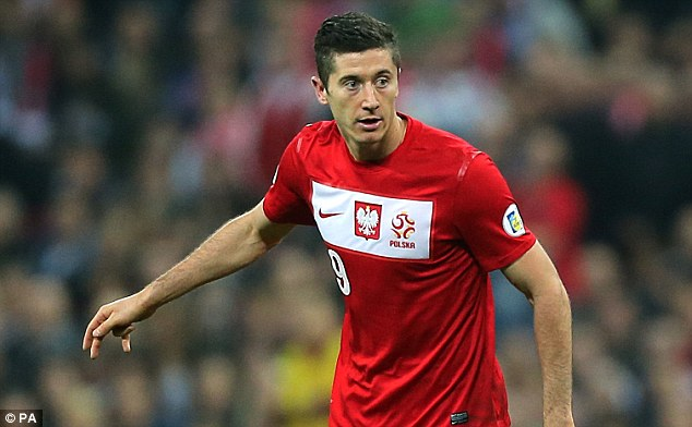 O'Neill's team will meet the likes of Poland'sRobert Lewandowski when they get to France this summer