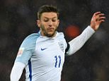 Adam Lallana of England during the International Friendly match between England and Netherlands at Wembley Stadium in London, England.     LONDON, ENGLAND - MARCH 29:   (Photo by Shaun Botterill/Getty Images)