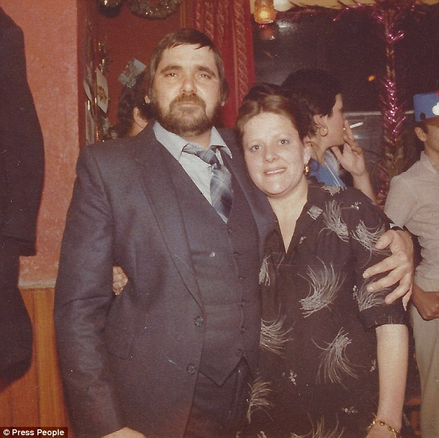 Freddie Sanders, 66, already had prostate cancer and diabetes when he was admitted to Whipps Cross Hospital, East London, with a severe cough on Boxing Day 2013 (he is pictured with Jennifer in 1975)