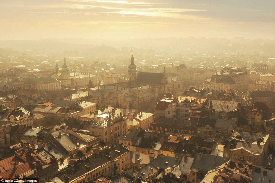 Ranking at five in the Best in Europe list is Lviv in Ukraine, which features quaint cobbled streets, a host of cosy coffeehouses and rattling trams