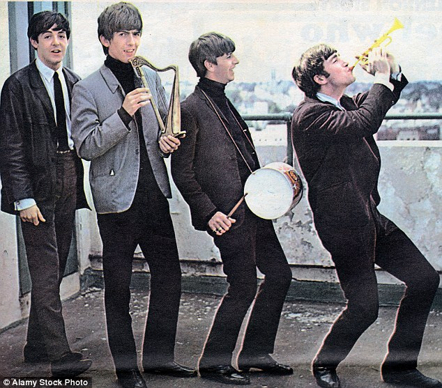 Youtful creativity: 'When you're younger, more magical things come to you – being in a band, the competition with John, being kids, suddenly getting famous... all that lent itself to good work,' McCartney said