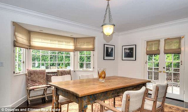 Rustic: The pile also features formal and casual dining areas