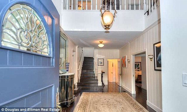 Welcome home: The understated property was being sold by celebrated realtor Juliette Hohnen