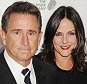 LOS ANGELES, CA- JANUARY 11: Actors Anthony LaPaglia (L) and Gia Carides attend the 2014 G'Day USA Los Angeles Black Tie Gala at JW Marriott Los Angeles at L.A. LIVE on January 11, 2014 in Los Angeles, California.(Photo by Jeffrey Mayer/WireImage)