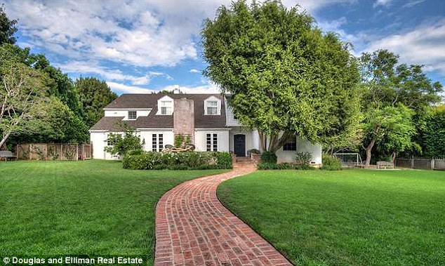 Secluded: The property sits on a sizable half-acre plot of land
