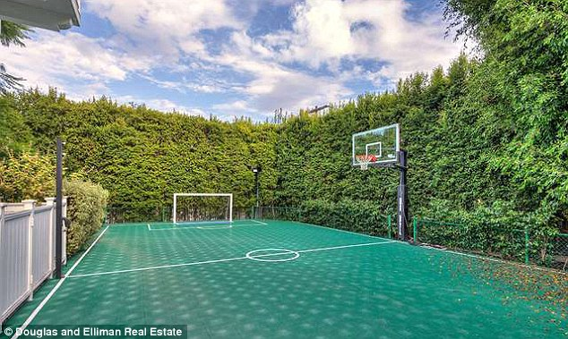 Leisure: It also features a spacious sports court