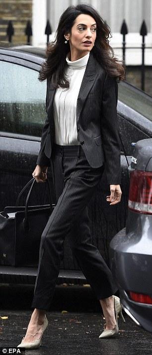 British lawyer Amal Clooney