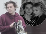 *** EXCLUSIVE PICTURES ?300 *** Brooklyn Beckham looking jet lagged and forlorn donning one of his fave casual sweaters and messy hair look when pictured back in the UK with friends after his one week trip to LA visting girlfriend Chloe Moretz.