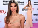 LAS VEGAS, NV - MAY 22:  Actress/singer Zendaya attends the 2016 Billboard Music Awards at T-Mobile Arena on May 22, 2016 in Las Vegas, Nevada.  (Photo by Frazer Harrison/BBMA2016/Getty Images for dcp)