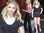 Mandatory Credit: Photo by Startraks Photo/REX/Shutterstock (5692047b)\nChloe Grace Moretz\nChloe Grace Moretz out and about, New York, America - 23 May 2016\nChloe Grace Moretz Leaving her Noho Hotel\n
