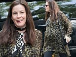 Pregnant Liv Tyler looks radiant in a printed leopard pattern blouse while out and about in New York.\n\nPictured: Liv Tyler\nRef: SPL1288171  230516  \nPicture by: GSNY / Splash News\n\nSplash News and Pictures\nLos Angeles: 310-821-2666\nNew York: 212-619-2666\nLondon: 870-934-2666\nphotodesk@splashnews.com\n