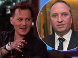 Johnny Depp during an appearance on ABC's 'Jimmy Kimmel Live!' Johnny  discuses his apology about Australia and promotes Alice 'Through the Looking Glass.'\nFeaturing: Johnny Depp\nWhere: United States\nWhen: 24 May 2016\nCredit: Supplied by WENN.com\n**WENN does not claim any ownership including but not limited to Copyright, License in attached material. Fees charged by WENN are for WENN's services only, do not, nor are they intended to, convey to the user any ownership of Copyright, License in material. By publishing this material you expressly agree to indemnify, to hold WENN, its directors, shareholders, employees harmless from any loss, claims, damages, demands, expenses (including legal fees), any causes of action, allegation against WENN arising out of, connected in any way with publication of the material.**