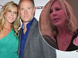 HOLLYWOOD, CA - MAY 08:  Television personalities Vicki Gunvalson (L) and her boyfriend Brooks Ayers arrive at the Wines By Wives Launch Party For Celebrity Wine Of The Month Club at Lexington Social House on May 8, 2012 in Hollywood, California.  (Photo by Amanda Edwards/Getty Images)