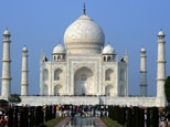 The Taj -- India's top tourist attraction -- was built by Mughal emperor Shah Jahan as a tomb for his beloved wife Mumtaz Mahal, who died giving birth in 1631 ©Prakash Singh (AFP/File)