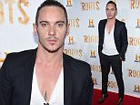 """Jonathan Rhys Meyers attends History Channel's """"Roots"""" mini-series premiere at Alice Tully Hall on Monday, May 23, 2016, in New York. (Photo by Charles Sykes/Invision/AP)"""