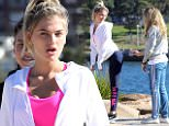 MEGHAN IRWIN BLAKE\n!!EXCLUSIVE!! MEGHAN IRWIN BLAKE SMOKES A CIGARETTE WHILE MODELLING FOR A FITNESS LABEL PHOTO SHOOT AT BARANGAROO IN SYDNEY 24TH APRIL 2016\nCOPYRIGHT:  WALKER AUSTRALIA\nRW240416MBLAKE\nSINGLE EDITORIAL USE ONLY\n