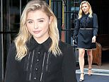 Picture Shows: Chloe Grace Moretz  May 23, 2016    'Neighbors 2' actress Chloe Grace Moretz is seen leaving The Bowery Hotel in New York City, New York. Chloe's boyfriend Brooklyn Beckham returned to London after spending a week with her in America.     Non Exclusive  UK RIGHTS ONLY    Pictures by : FameFlynet UK ? 2016  Tel : +44 (0)20 3551 5049  Email : info@fameflynet.uk.com