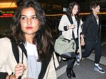 *EXCLUSIVE* Los Angeles, CA - Louis Tomlinson and girlfriend Danielle Campbell are spotted on their way out of LAX. The couple is seen hand in hand while walking through the terminal and seem smitten with one another as they keep close. Reports online indicate that Tomlinson is supposedly banned from visiting the house of ex-girlfriend and mother of his child, Freddie Reign Tomlinson, after bringing new girlfriend Danielle along to see the 5 month old child. \n  \nAKM-GSI      May 23, 2016\nTo License These Photos, Please Contact :\nSteve Ginsburg\n(310) 505-8447\n(323) 423-9397\nsteve@akmgsi.com\nsales@akmgsi.com\nor\nMaria Buda\n(917) 242-1505\nmbuda@akmgsi.com\nginsburgspalyinc@gmail.com