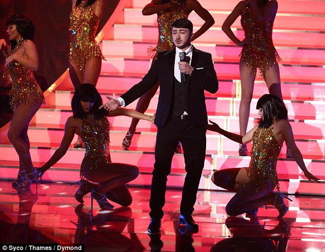 He won the affections of Amanda Holden after branding her a 'MILF' in a recent interview. And 20-year-old singer Wayne Woodward also managed to win over the hearts of the nation as he took home the crown during Britain's Got Talent's second semi-final on Monday