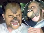 24 May 2016 - Los Angeles - USA  **** STRICTLY NOT AVAILABLE FOR USA ***  Chewbacca mask mum Candace Payne gets to meet Star Wars director JJ Abramas for hilarious sketch on The Late Late Show. Candance Payne wracked up a staggering 137 million views after she posted a video of herself laughing hysterically while donning a Chewbacca mask while sitting in her car. Candance then appeared in a sketch with James Corden on The Late Late Show with her putting on the mask again and Corden refusing to - until Star Wars director Abrams pops up in the back seat and gamely puts on a mask himself. Corden then reluctantly wears his mask and the trio maks Chewbacca noises together before bursting into laughter. Candace then joined Corden in the studio - where he showed the audience some footage of how the mum got super excited when she first met Abrams earlier in the day - before he dropped another surprise on her and read her out a message from actor Peter Mayhew who played Chewbacca in the movies.
