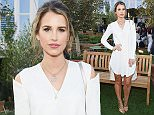 LONDON, ENGLAND - MAY 24:  Vogue Williams attends the launch of ?The Gardening Society' rooftop restaurant at John Lewis on Tuesday 24th May in Oxford Street, London on May 24, 2016 in London, England.  (Photo by David M. Benett/Dave Benett/Getty Images for John Lewis 'Gardening Society')