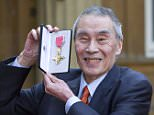 NOT UK UNTIL 1 March 2011 Mandatory Credit: Photo by REX/Shutterstock (1289032i) Burt Kwouk Investitures at Buckingham Palace, London, Britain - 24 Feb 2011 Burt?Kwouk outside Buckingham Palace in London today after receiveing an OBE for services to Drama.  Actor Burt Kwouk, known for his roles in the Pink Panther films.