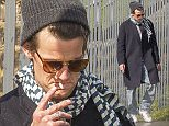 MUST BYLINE: EROTEME.CO.UK Matt Smith is spotted smoking a suspicious looking cigarette while out with friends. EXCLUSIVE  May 23, 2016 Job: 160523L11   London, England  EROTEME.CO.UK 44 207 431 1598 Ref: 341629