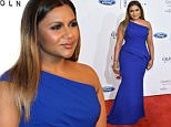 Mandatory Credit: Photo by Rob Latour/Variety/REX/Shutterstock (5694416bd)\nMindy Kaling\nThe 41st Annual Gracie Awards, Arrivals, Los Angeles, America - 24 May 2016\n