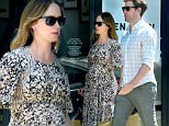 EXCLUSIVE: A Pregnant Emily Blunt And John Krasinski Shop At The James Perse Store On Melrose in West Hollywood\n\nPictured: Emily Blunt And John Krasinski\nRef: SPL1288127  230516   EXCLUSIVE\nPicture by: Splash News\n\nSplash News and Pictures\nLos Angeles: 310-821-2666\nNew York: 212-619-2666\nLondon: 870-934-2666\nphotodesk@splashnews.com\n