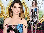 Mandatory Credit: Photo by Startraks Photo/REX/Shutterstock (5692085d)\nAnne Hathaway\n'Alice Through the Looking Glass' film premiere, Los Angeles, America - 23 May 2016\n