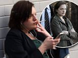 ELIZABETH MOSS\n!!EXCLUSIVE!! ELIZABETH SMOKES A CIGARETTE OUTSIDE THE STATE CORONERS OFFICE OF NSW ON THE SET OF TOP OF THE LAKE TVE DRAMA FILMING IN CAMPERDOWN SYDNEY 25TH APRIL 2016\nCOPYRIGHT:  WALKER AUSTRALIA\nRW250416EMOSS\nSINGLE EDITORIAL USE ONLY\n