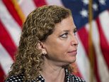 UNITED STATES - APRIL 27: Rep. Debbie Wasserman Schultz, D-Fla., participates in the House Democrats' media availability following the House Democrats' caucus meeting in the U.S. Capitol on Wednesday, April 27, 2016. (Photo By Bill Clark/CQ Roll Call)