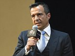 SHANGHAI, CHINA - JANUARY 18:  (CHINA OUT) Portuguese football agent Jorge Mendes attends Gestifute and FOYO strategic partnership press conference at Shangri-La Hotel on January 18, 2016 in Shanghai, China.  (Photo by ChinaFotoPress/ChinaFotoPress via Getty Images)