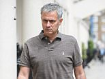 """Portuguese football manager Jose Mourinho is pictured as he returns to his home in London on May 24, 2016. Mourinho is on the verge of fulfilling his dream of managing Manchester United after Louis van Gaal's troubled two-year reign at Old Trafford came to a bitter end. Van Gaal said he was """"very disappointed"""" to be sacked on May 23, just 48 hours after leading United to victory in the FA Cup final against Crystal Palace. / AFP PHOTO / LEON NEALLEON NEAL/AFP/Getty Images"""