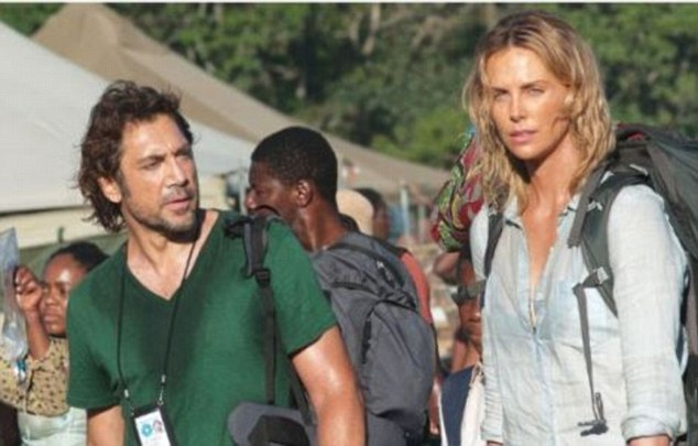 Sean Penn's latest directorial effort, The Last Face, debuted at Cannes on Friday morning. The film stars Javier Bardem (left) and Charlize Theron (right), who was dating Penn when the movie was filmed